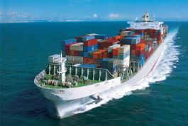 International shipping services by sea